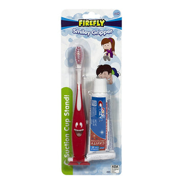 Crest Kids & Smiley Gripper Toothbrush Kit - 0.85 oz.