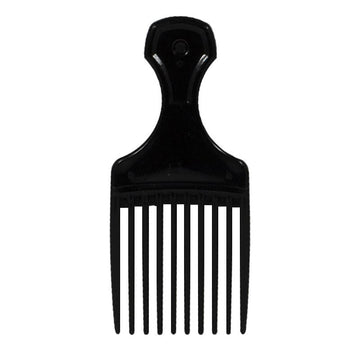 Black Mini Hair Pick - 5.5 in.