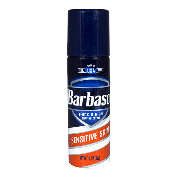Barbasol Sensitive Skin Shaving Cream - 2 oz.
