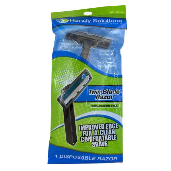 Handy Solutions Twin Blade Razor - Pack of 1