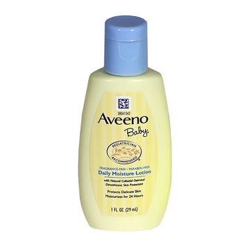 Aveeno Baby Daily Moisture Lotion Travel Size - 1 oz.