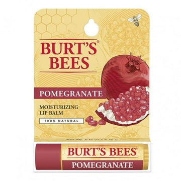 Burt's Bees Pomegranate Moisturizing Lip Balm - 0.15 oz.