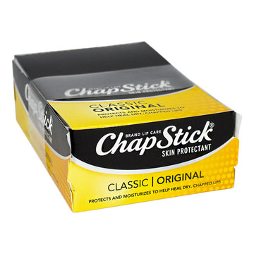 ChapStick Classic Original Lip Balm Refills for Display - 0.15 oz. Stick