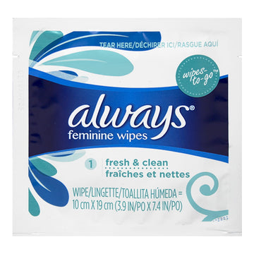 Always Clean Alcohol Free Wipes