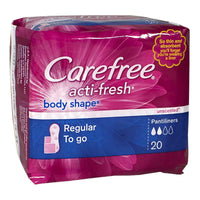 Carefree Regular To go Pantiliners - Pack of 20