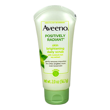 Aveeno Positively Radiant Skin Brightening Scrub - 2 oz.