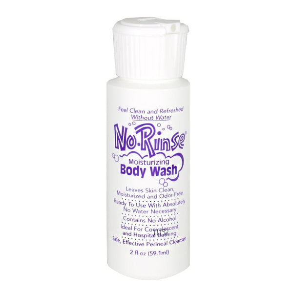 No-Rinse Moisturizing Body Wash - 2 oz.