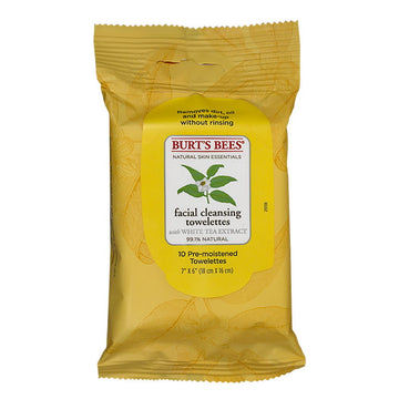 Burt's Bees Facial Cleansing Towelettes - Pack of 10