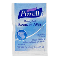 Purell Moisturizing Cottony Soft Sanitizing Wipes - Pack of 1
