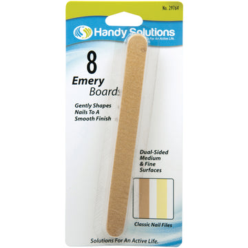 Handy Solutions Emery Boards - Card of 8