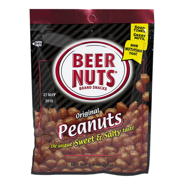 Beer Nuts Peanuts - 2 oz.