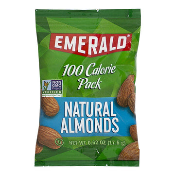 Emerald Natural Almonds 100 Calorie Pack
