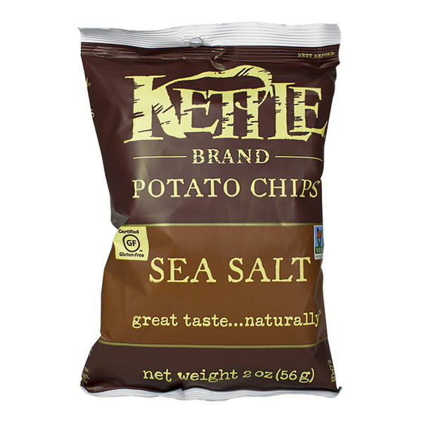 Kettle Brand Potato Chips Sea Salt - 2 oz.