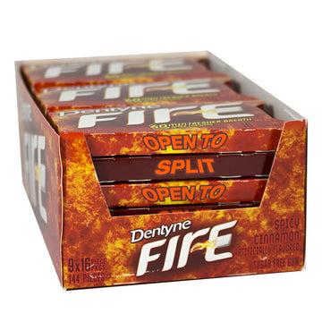 Dentyne Fire Spicy Cinnamon Gum - 16 Pieces