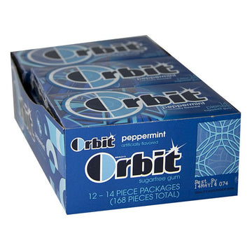 Orbit Peppermint Gum - 14 Pieces