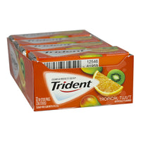 Trident Tropical Twist Gum - 18 Sticks