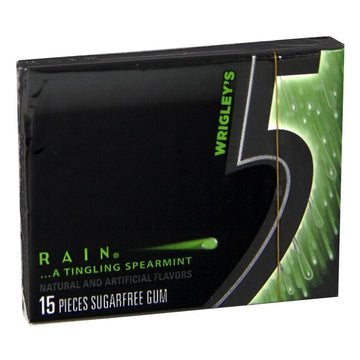 Wrigley's Rain 5 Gum - 15 Sticks