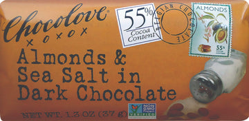 Chocolove Almonds & Sea Salt in Dark Chocolate - 1.3 oz.