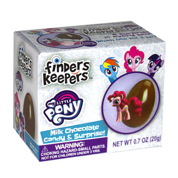 Finders Keepers  My Little Pony - 0.7 oz. Chocolate & Surprise