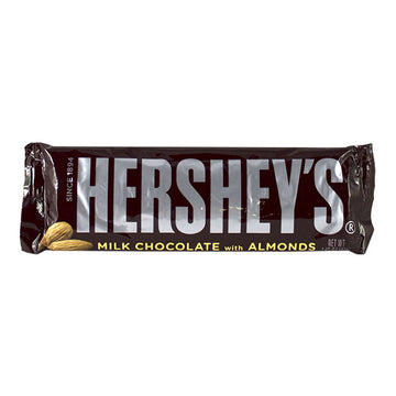 Hershey?s Milk Chocolate Bar With Almonds - 1.45 oz.
