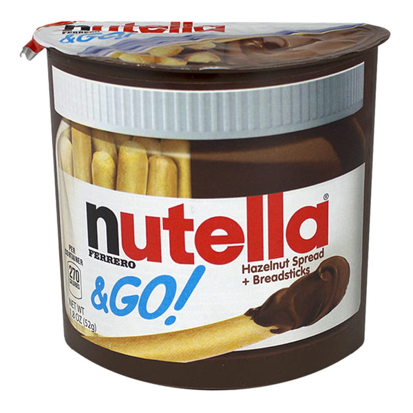 Nutella & Go Hazelnut Spread + Breadsticks - 1.8 oz.