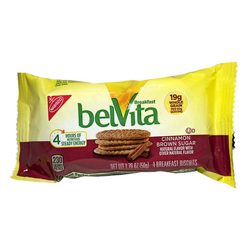 BelVita Cinnamon Brown Sugar Breakfast Biscuits - 1.76 oz.
