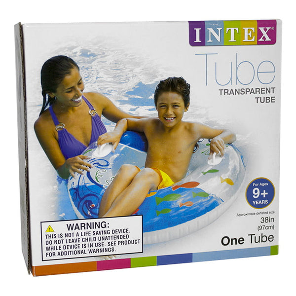 Intex Transparent Tube with Handles - 38 in.