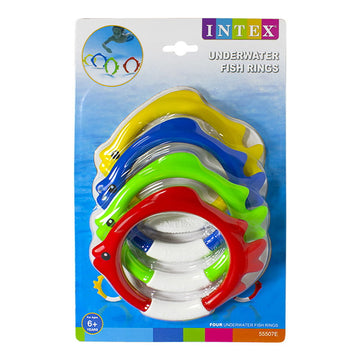 Intex Underwater Fish Rings - Pack of 4
