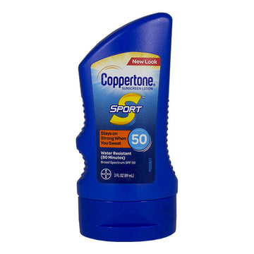 Coppertone Sport Sunscreen Lotion SPF 50 - 3 oz.