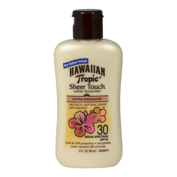Hawaiian Tropic Sheer Touch Sunscreen Lotion SPF 30 - 2 oz.