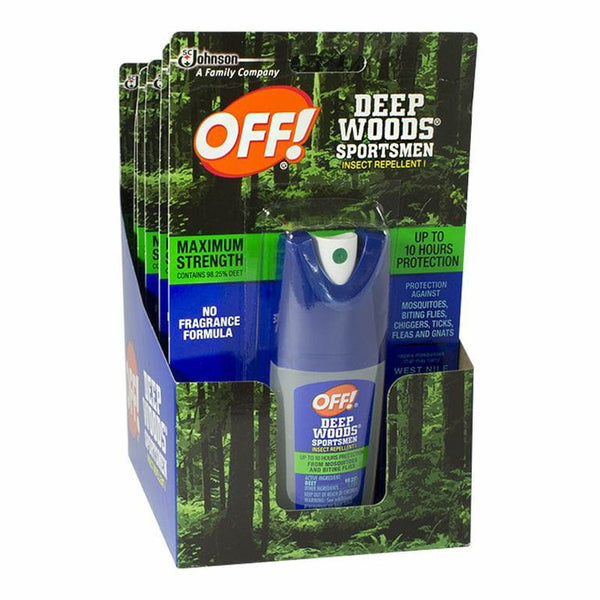 Off Deep Woods Sportsman Insect Repellent - 1 oz. Pump