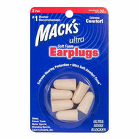 Mack's Ultra Soft Foam Earplugs - 3 Pairs