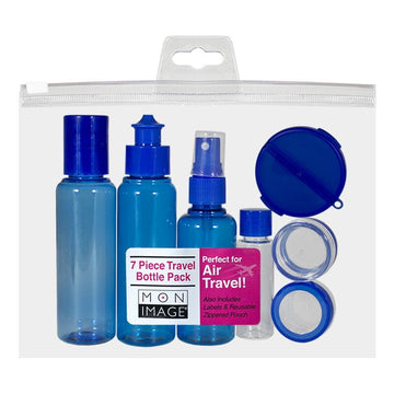 Mon Image Travel Bottles - Pack of 7