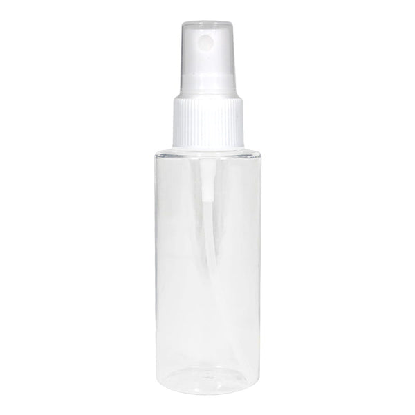 Clear Cylinder Spray Bottle - 2 oz.
