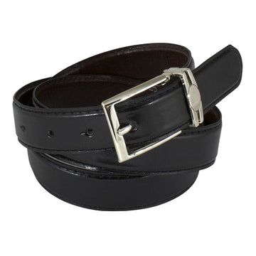 Black/Brown Reversible Adjustable Belt