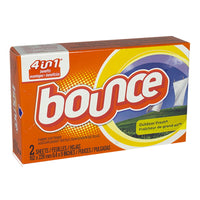 Bounce Fabric Softener Sheets - Box of 2