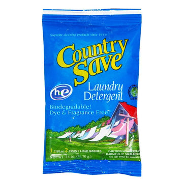 DBM - Country Save Laundry Detergent - 2 oz.
