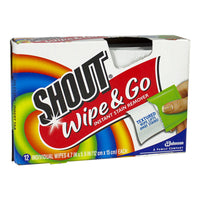 Shout Wipe & Go Instant Stain Remover Wipes - 1 Wipe