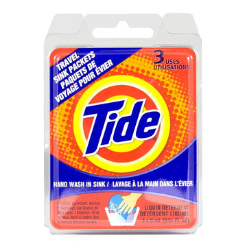 Tide Laundry Detergent Single Sink Packets - Pack of 3