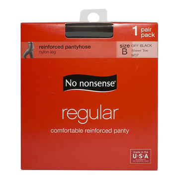 DBW - No Nonsense Regular Pantyhose Off Black B