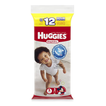 Huggies Snug & Dry Diapers Step 5 - Pack of  3