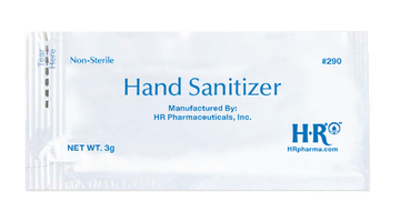 HR Hand Sanitizer Gel - 3 g Packet