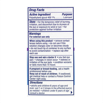 Visine Tired Eye Lubricant Drops - 0.5  oz.
