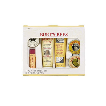 Burt's Bees Tips and Toes Kit - 6 Piece Gift Kit