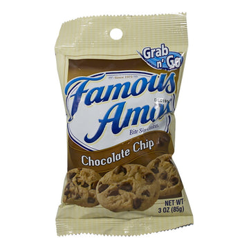Famous Amos Chocolate Chip Cookies - 3 oz.