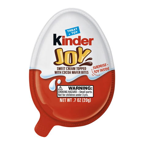 Kinder Joy - 0.7 oz. Treat + Toy