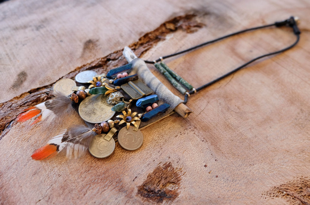 Folkloric Relic Necklace - Made to Order