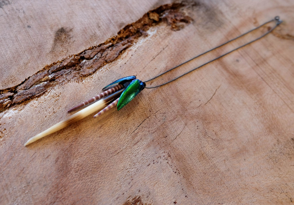 Earth Wind Water Necklace - Made to Order