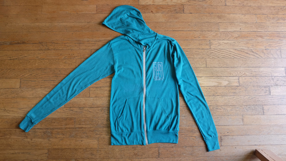 Goin Left Unisex OG/Fins Zip-Up Hoodie