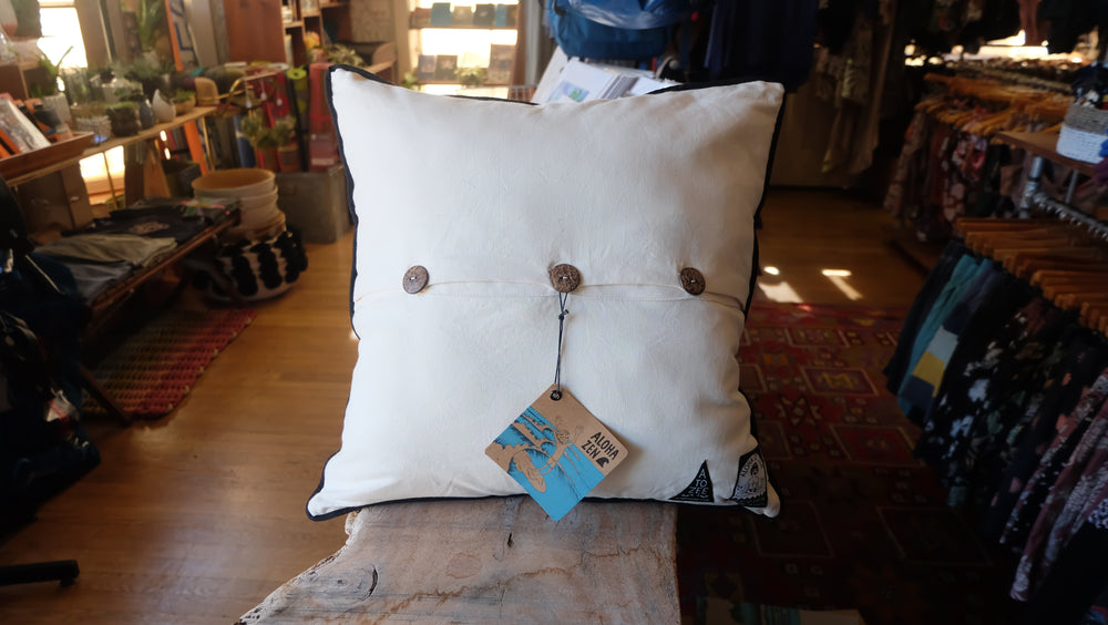 Rell Sun Heart of the Sea pillow back